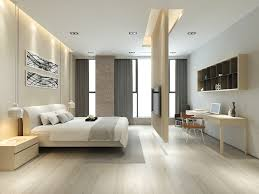 Home Designs: Bedroom Recessed Lighting - Neutral Color Palette