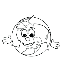 Save The Earth Coloring Pages Recycling Save Earth Colouring Pages