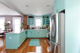 Light Blue Kitchen Kitchen Countertop Colors Pictures Ideas From Hgtv Hgtv