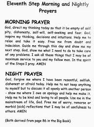 Aa Quotes Stunning Morning Evening Prayers Inspired By The 48th Step Of AA Quotes