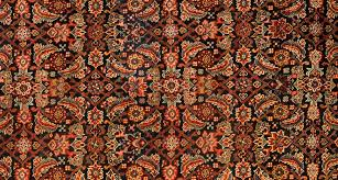 example of herati rug design pattern