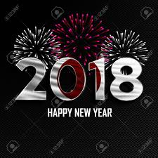 Happy New Year And Merry Christmas 2018 New Year Background
