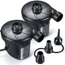 Etekcity Electric <b>Rechargeable</b> Air Pump <b>Portable Air</b> Mattress Pump ...