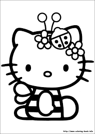 Free Printable Hello Kitty Coloring Pages At Getdrawingscom Free