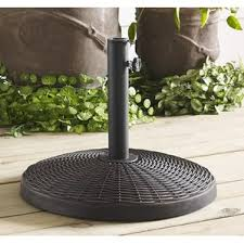 table umbrella stand. monmouth resin free standing umbrella base table stand