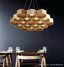 coffee shop lighting. Coffee Shop Lighting Loft Wood Pendant Lamp Honeycomb Chandeliers Antique  Wooden Founded On Solid Light .