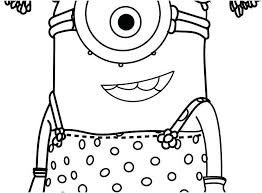 Happy Birthday Minion Coloring Pages Beautiful Minion Coloring Pages