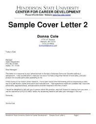 Cover Letter Sales Rep Sales Representative Cover Letter Template
