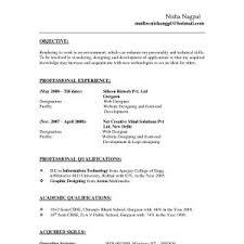 Sample Resume Format For Experienced Bpo Professionals Fresh Resume