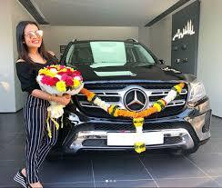 #mercedesbenzaclass is more than just a car. Neha Kakkar Gifts Herself A Brand New Mercedes Benz Gls 350 Suv India Com