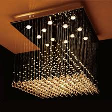 square chandelier pixball square crystal chandelier