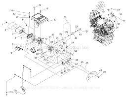generac 005072 1 gth990 parts diagrams