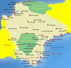 devon online guide to towns and villages in devon Uk Map Devon Uk Map Devon #23 map of devon uk