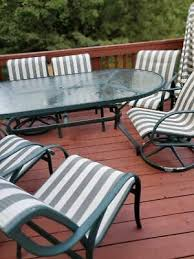 tropitone made u s patio set 6 chairs