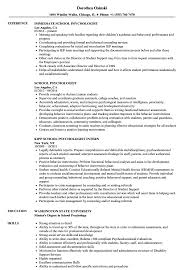 Resume Examples For Psychology Majors Resume Samples Uva Career Psychology Template Assistant Examples 19