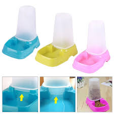 pet cat dog automatic food water feeder dispenser dual purpose bowl sku2472141jpg sku2472142jpg automatic water bowl for cats r28