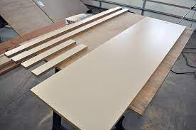 how to build a diy concrete table for