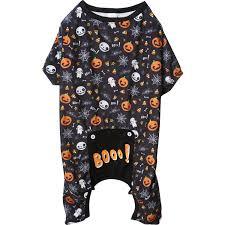 Pup Crew Size Chart Pup Crew Pro Halloween Boo Print Dog Pajamas Save 65