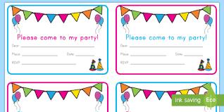 Birthday Party Invitation Cards Party Invitations Birthday