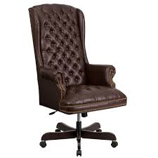 H Tufted High Back Leather Executive Chair By ChurchFurniture1