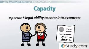 Writing Contract Between Two Individuals Mesmerizing Legal Capacity To Enter A Contract Definition Examples Video
