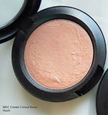 mac cream color base in hush nars penny lane cream blush dupe