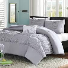 gray queen sheet set