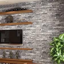 Small Picture Aliexpresscom Buy Vintage 3D Wallpaper Stone Brick Design