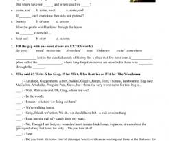 halloween worksheets movie worksheet over the garden wall 1 4 episodes