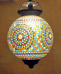 chandeliers india luxury designer home decorative mosaic glass ceiling hanging lamp