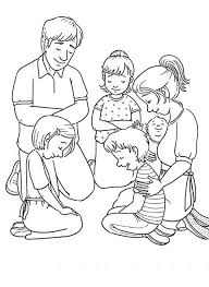 Small Picture Coloring Pages Prayer Coloring Page Praying Children To Color