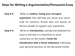 steps to writing an effective argumentative essay steps to writing an effective argumentative essay