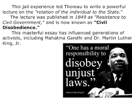 "might thoreau s ""civil disobedience"" improve income inequality  4"