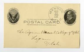 Postal card from Effie Jensen