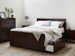 chocolate brown bedroom furniture. Hardwood King Size Bedroom Suite With Four Storage Modern Brown Timber Stain Furniture Chocolate N