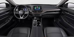 nissan altima interior in charcoal leather