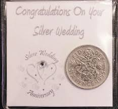 image is loading lucky sixpence coin keepsake gift for silver wedding