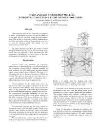 Rubber Mold Design Pdf Pdf Flow Analysis Of Injection Molding With Retractable