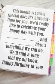 Flip Chart Your Happy Birthday