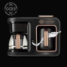 Karaca Hatır Plus Mod 5 in 1 Kahve Ve Çay Makinesi Black Copper Karaca