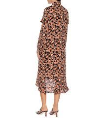 Ani Floral Midi Dress