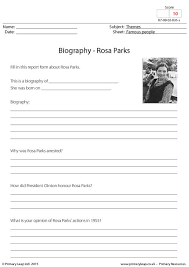 primaryleap co uk biography rosa parks worksheet black primaryleap co uk biography rosa parks worksheet