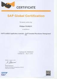 Sap Wm Ewm Hum Consultant Certified Sap Professionnel Wm Le Mm
