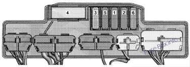 chrysler crossfire 2004 2008 < fuse box diagram fuse box diagram relay control module relay control module chrysler crossfire 2004