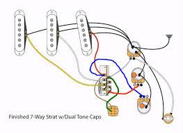 strat 7 way mod with dedicated bridge Strat 7 Way Wiring Diagram Guitar Wiring 2 Volume 1 Tone