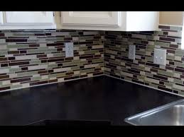 Installing A Glass Tile Backsplash Cool Adorable Installing Glass Tile Backsplash Innovative How To Install
