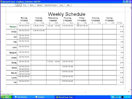 Student Schedule Excel Microsoft Excel Monthly Calendar Template 2016 How To Easily Create