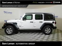 2018 jeep wrangler unlimited sport 4x4 0 white suv 3 6l 6 2000 jeep wrangler wiring harness wiring for jeep tj ls