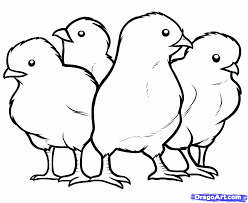 Small Picture Printable Chicken Coloring Pages Coloring Home