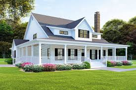 Modern Farmhouse Home Designs Plan 70608mk Modern Farmhouse Plan With Wraparound Porch In